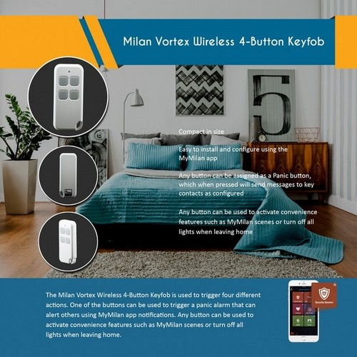 Milan Vortex Wireless Smart Camera