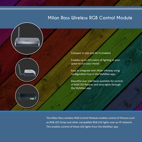 Milan Ross Wireless RGB Control Module