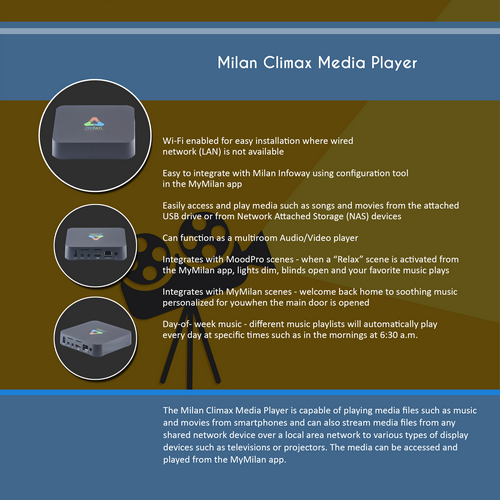 Milan Climax Media Player