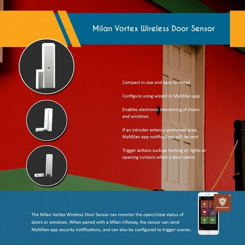 Milan Vortex Wireless Multisensor