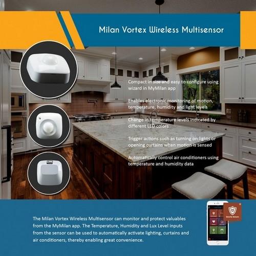 Milan Vortex Wireless