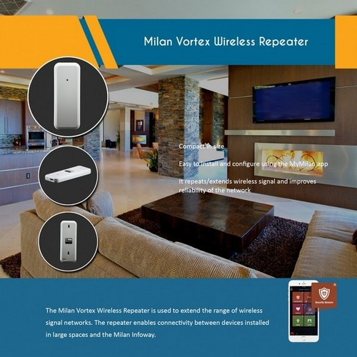 Milan Vortex Wireless Siren